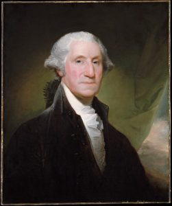 George Washington -Gilbert Stuart oil painting (Source – Metropolitan Museum of Art)